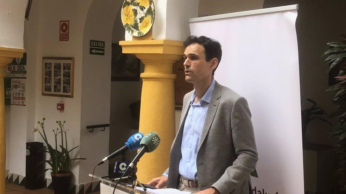 El delegado territorial de Igualdad, Políticas Sociales y Conciliación de la Junta de Andalucía en Córdoba, Antonio López.