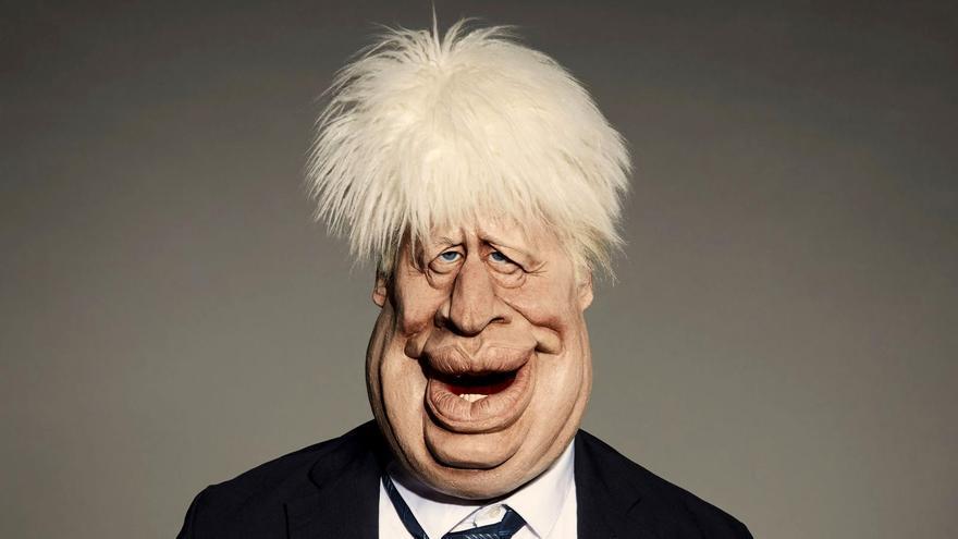 Marioneta de Boris Johnson como estrella del nuevo 'Spitting Image'