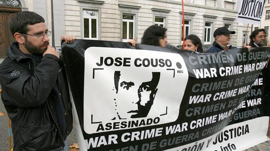 El Tribunal Supremo confirma el sobreseimiento del caso Couso al rechazar una consulta al TC