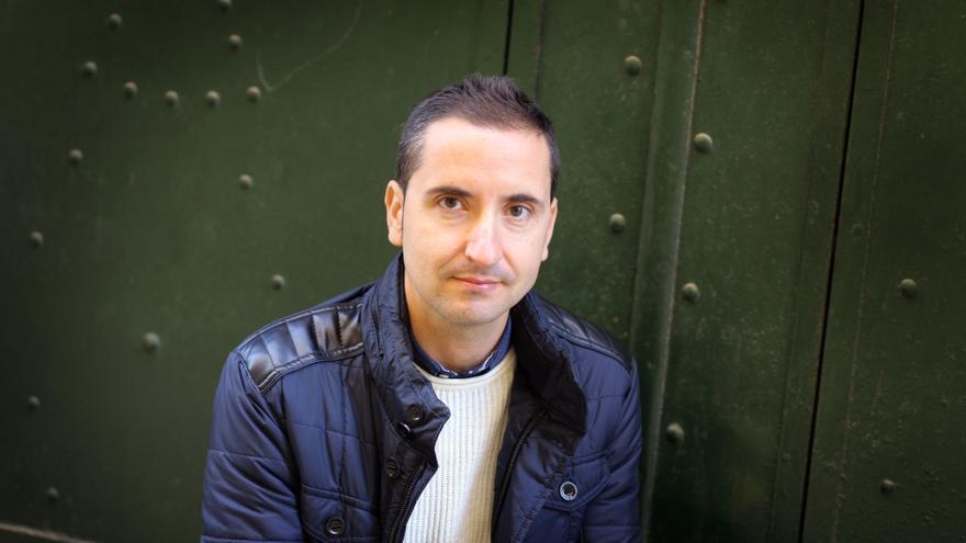 Sergi Castillo, autor de 'Yonquis del dinero'.