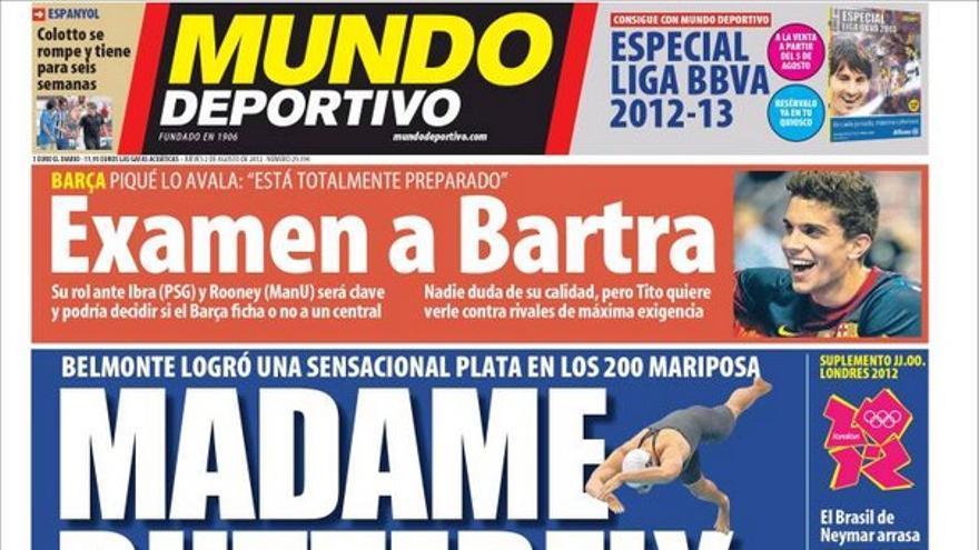 De las portadas del día (02/08/2012) #14