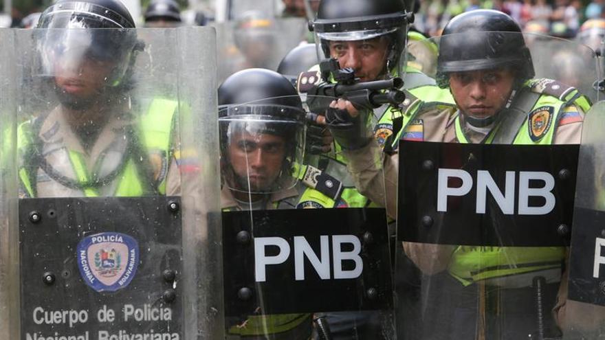 Caracas amanece en calma y fuertemente custodiada ante la expectativa de marchas