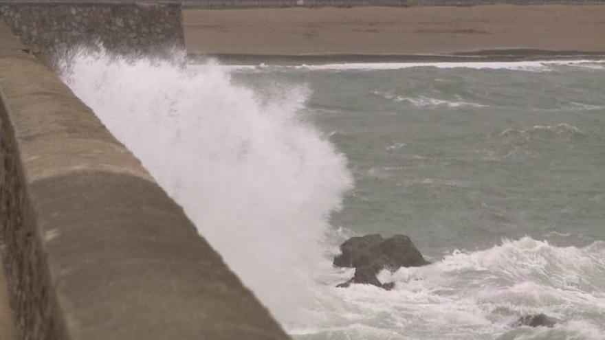 Activado para este lunes el aviso amarillo por riesgo marítimo-costero en Euskadi
