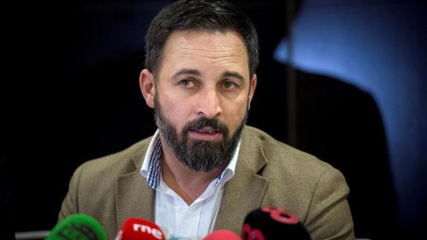 Vox votara a favor del candidato de Cs a la presidencia del Parlamento