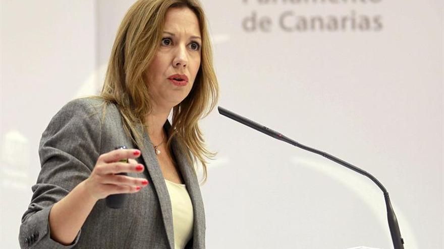 La consejera de Hacienda del Gobierno de Canarias, Rosa Dávila.  EFE/Cristóbal García