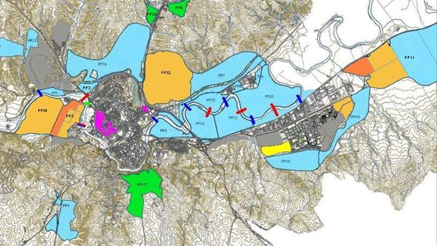 Mapa del POM de Toledo / toletho.com