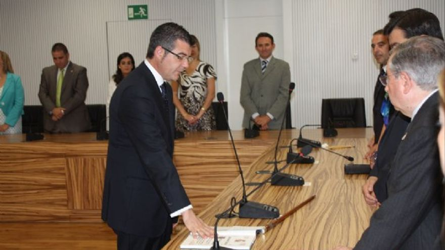 Daniel García Marín, ex alcalde de Torre Pacheco (Murcia) condenado por prevaricación administrativo.