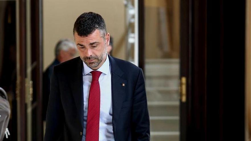 """El conseller Vila llama a la sensatez para evitar una """"situación de colapso"""""""
