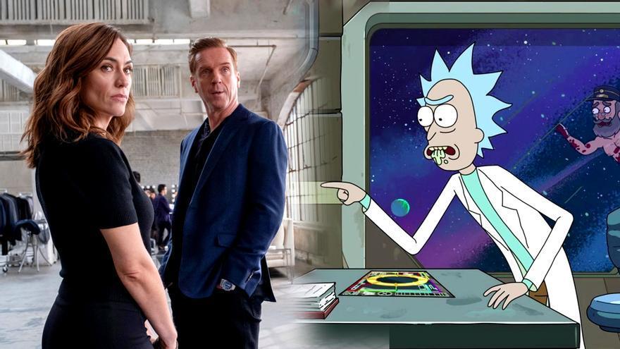 'Billions' y 'Rick y Morty', dos de las series de la semana
