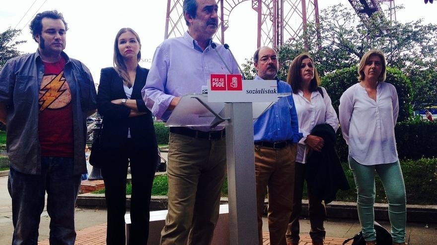 La candidatura socialista al Ayuntamiento de Getxo aboga por apoyar el comercio local e implantar un parque empresarial