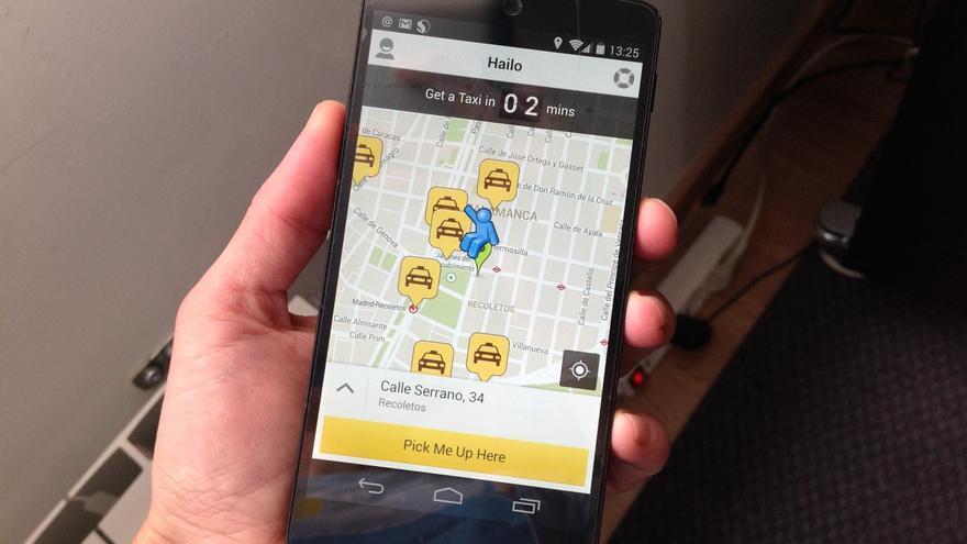 Hailo, una de los servicios para solicitar taxi desde el móvil que funcionan en España