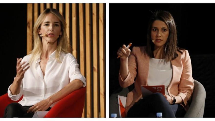 Álvarez de Toledo e Inés Arrimadas, en el debate