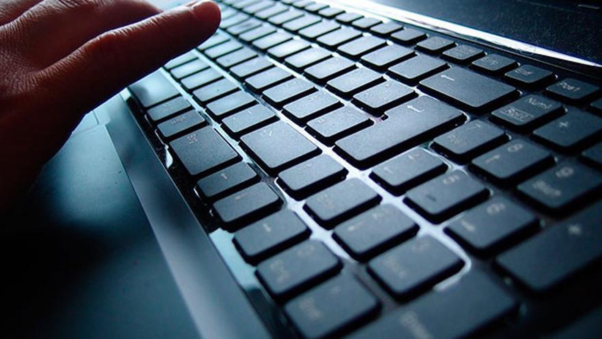Teclado de un ordenador.