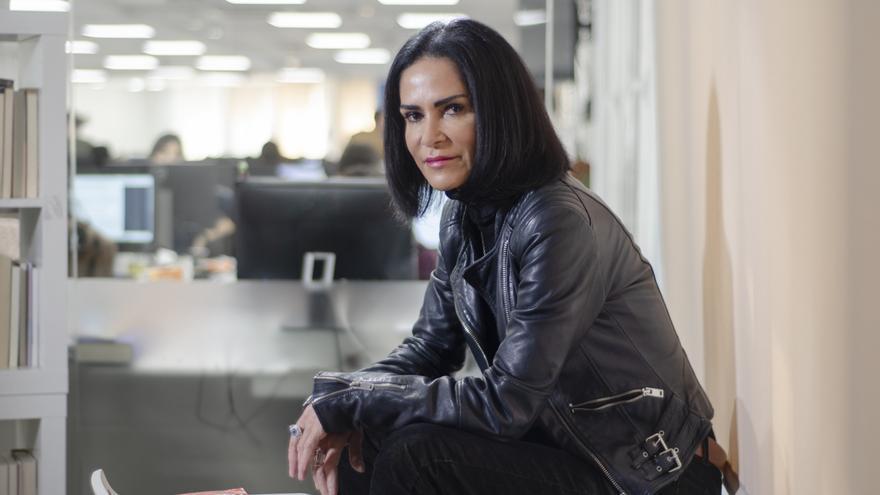 """Lydia Cacho, autora de """"Ellos hablan"""""""