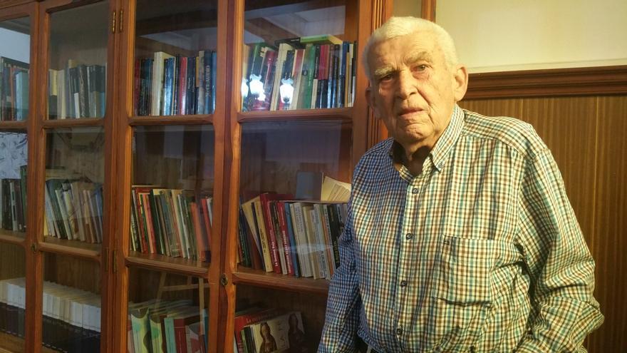 Pancho Martín fue la figura más destacada del baloncesto palmero. Foto: LUZ RODRÍGUEZ.