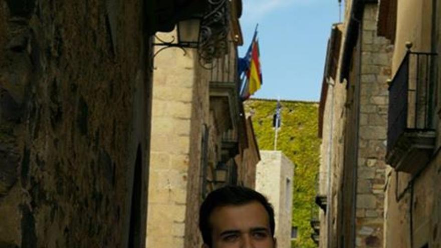 Luis Salaya, candidato a las primarias del PSOE en Cáceres