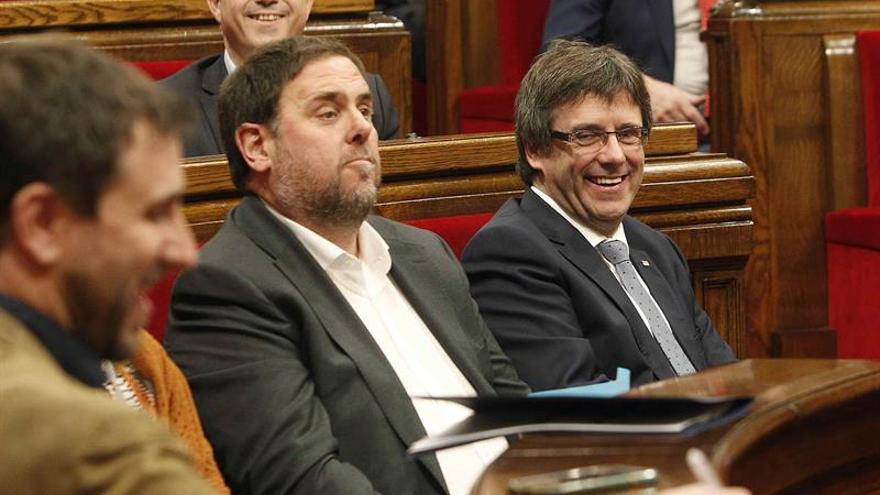 Oriol Junqueras augura que Cataluña cerrará este año con un déficit del 1 %