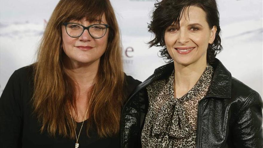Isabel Coixet, feliz por el reconocimiento a Juliette Binoche