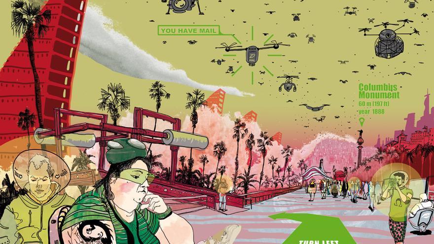 'Barcelona 2100, realitat augmentada i solitud digital', de Cristina Curto Teixidó