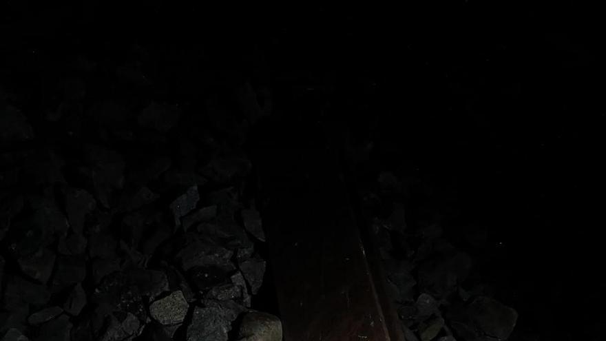 Carril sabotaje tren Torrijos
