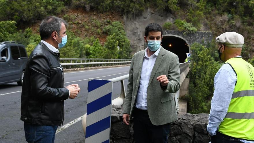 Borja Perdomo lamenta que el portavoz de CC tergiverse la realidad con las obras de repavimentación entre Los Galguitos y el puente de Los Tilos