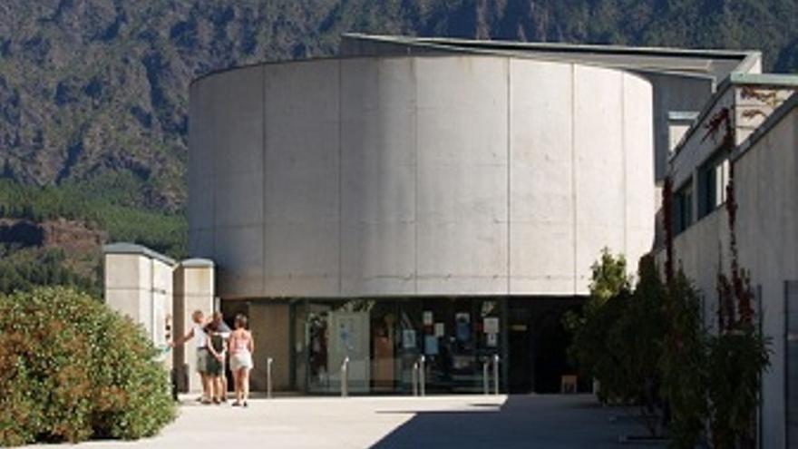 El centro de interpretación de La Caldera de Taburiente, ubicado en el municipio de El Paso, recibe al año más de 90.000 visitas.