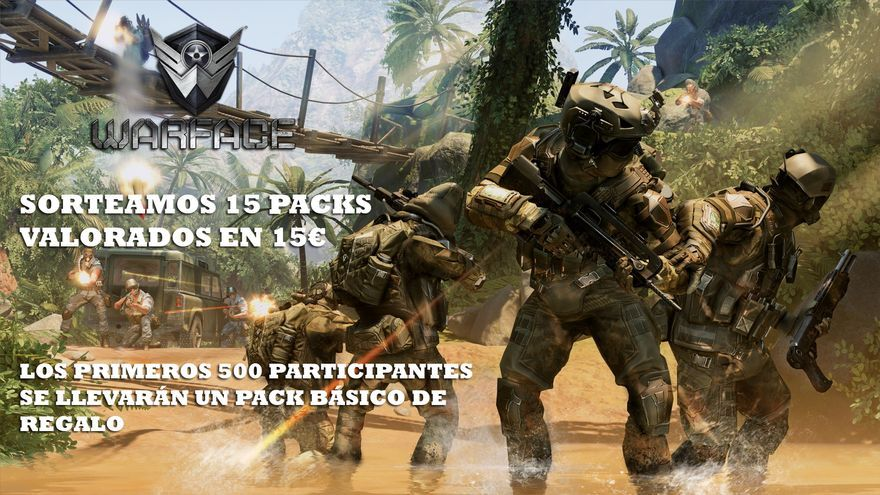WARFACE sorteo