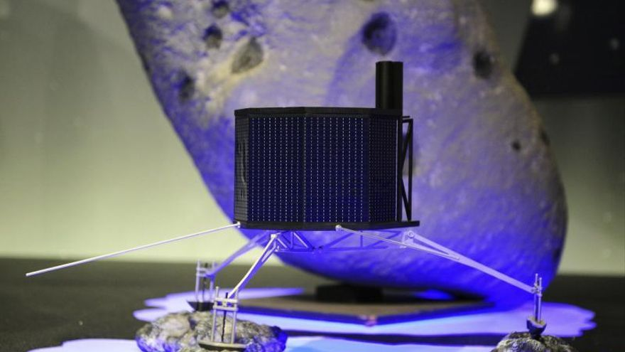 La sonda Rosetta envía una señal a la Tierra de que se ha despertado