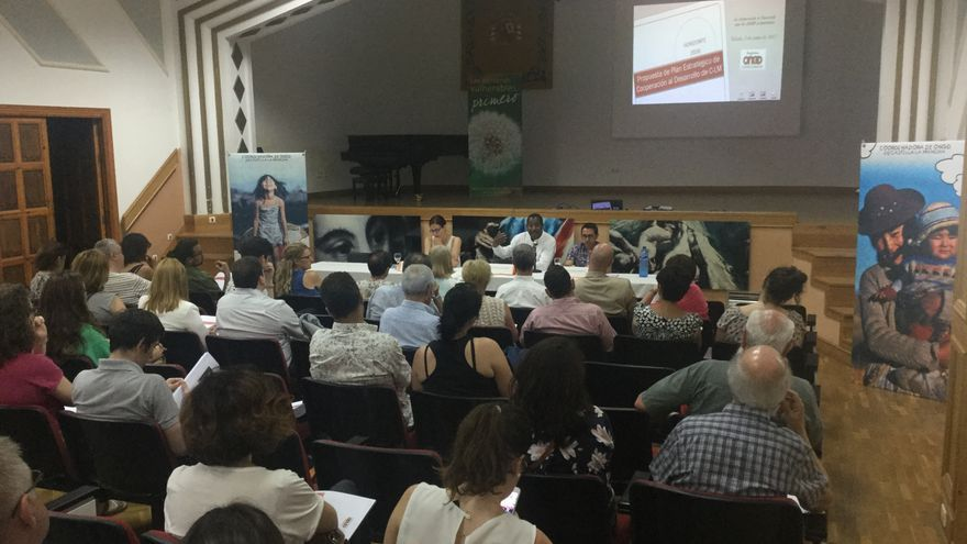 Presentación del Plan Estratégico de Cooperación de la Coordinadora de ONGD CLM