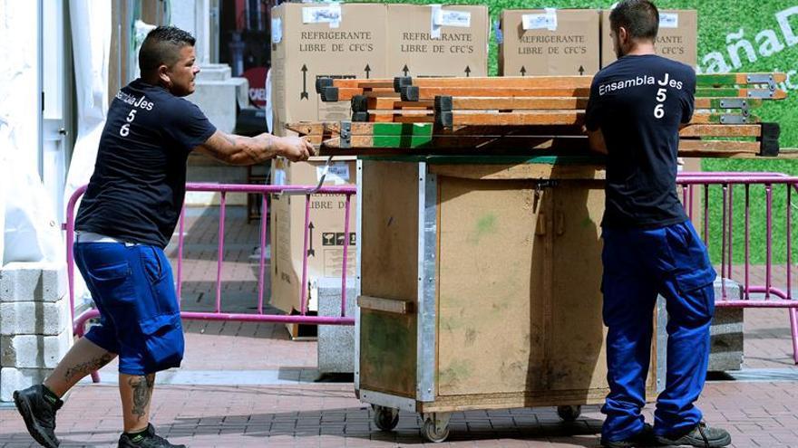 El coste laboral de las empresas baja el 0,1 % en el segundo trimestre