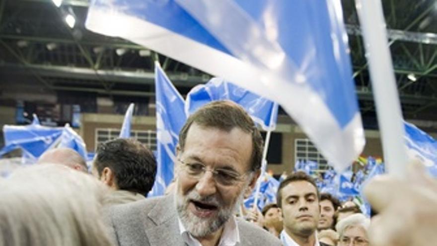 Mariano Rajoy En Un Mitin En Sevilla