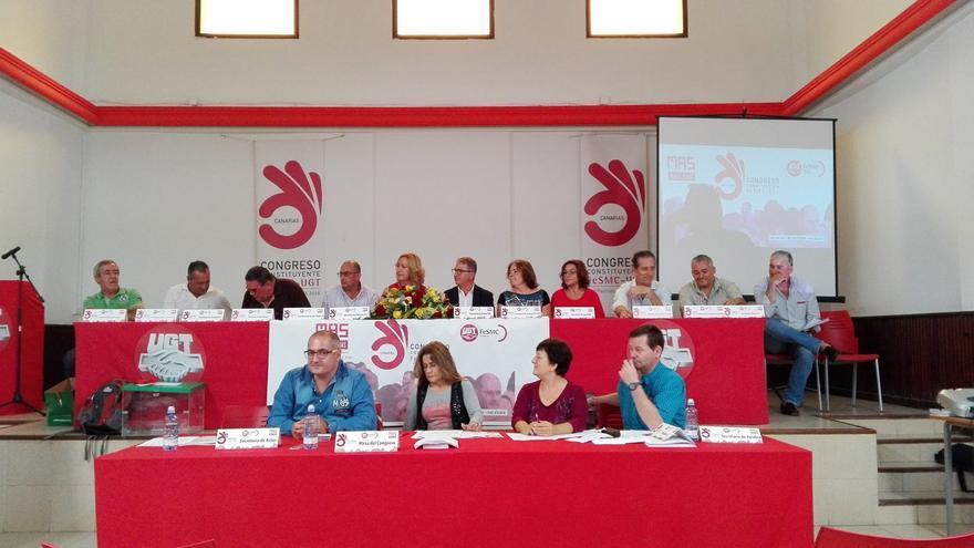 Congreso constituyente de la Federación de Servicios, Movilidad y Consumo de UGT Canarias