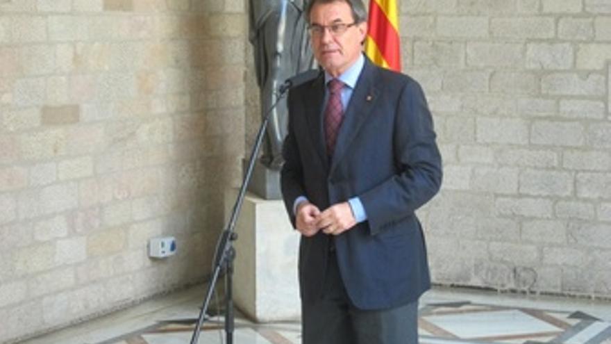 El presidente de la Generalitat de Catalunya, Artur Mas
