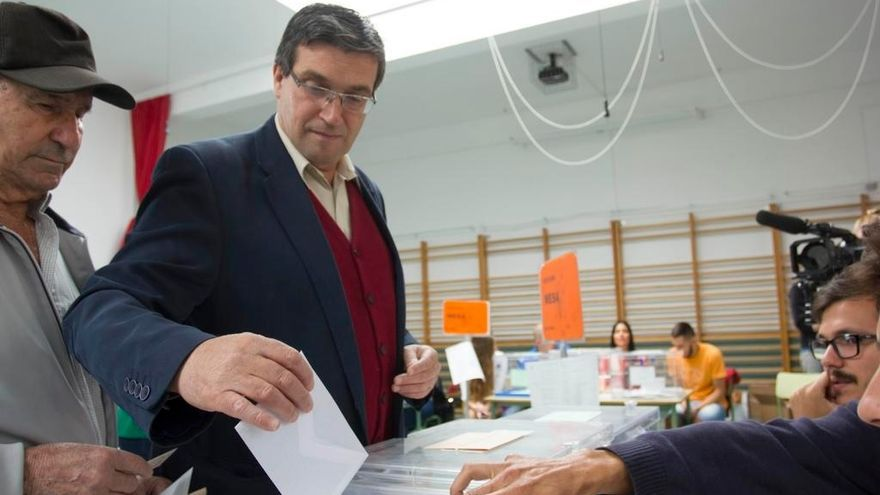 El candidato de LPGC Puede, Javier Doreste.