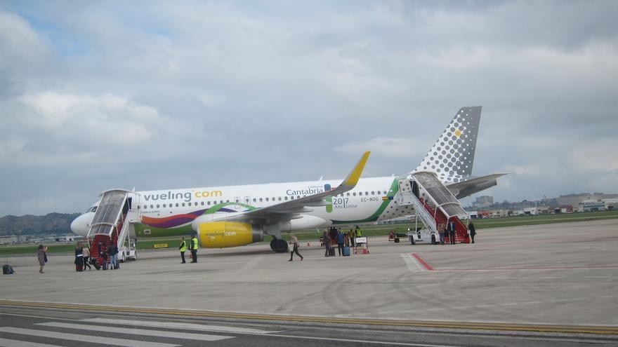 Un avión de Vueling promocionará Cantabria y el Año Jubilar en Europa