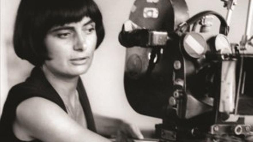 La directora de cine francesa Agnes Varda. Foto: Donostia Kultura.