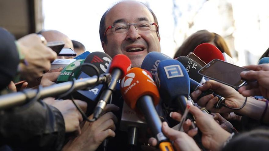 """Iceta celebra el """"compromiso"""" de los candidatos del PSOE en resolver el encaje catalán"""