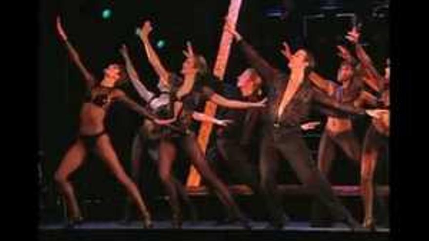 Representación del musical 'Chicago'.