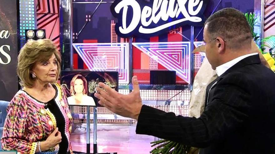María Teresa Campos y Jorge Javier Vázquez en 'Deluxe'