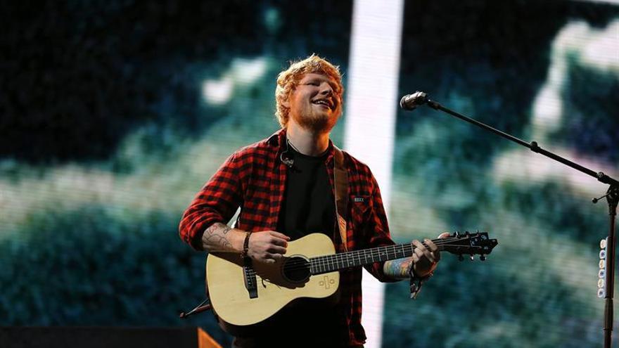 Ed Sheeran, nominado por primera vez a los premios británicos Mercury