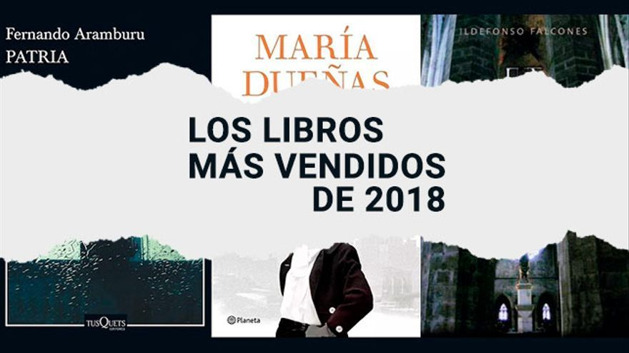 Estos son los diez libros más vendidos en España, con 'La