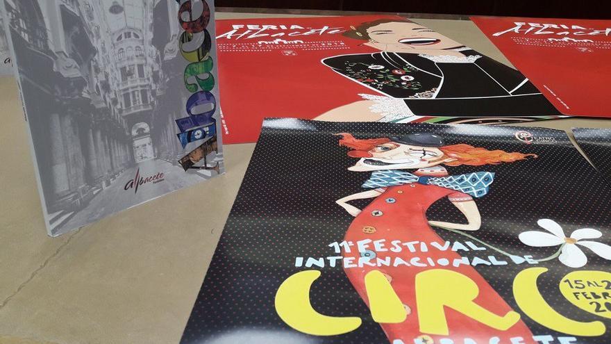 Material sobre el Teatro Circo de Albacete para FITUR 2018