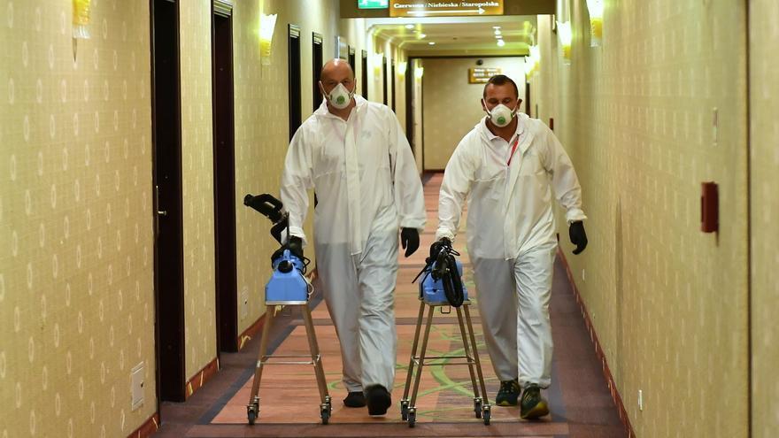 Polonia rebasa la franja de los 3.000 muertos desde el inicio de la pandemia