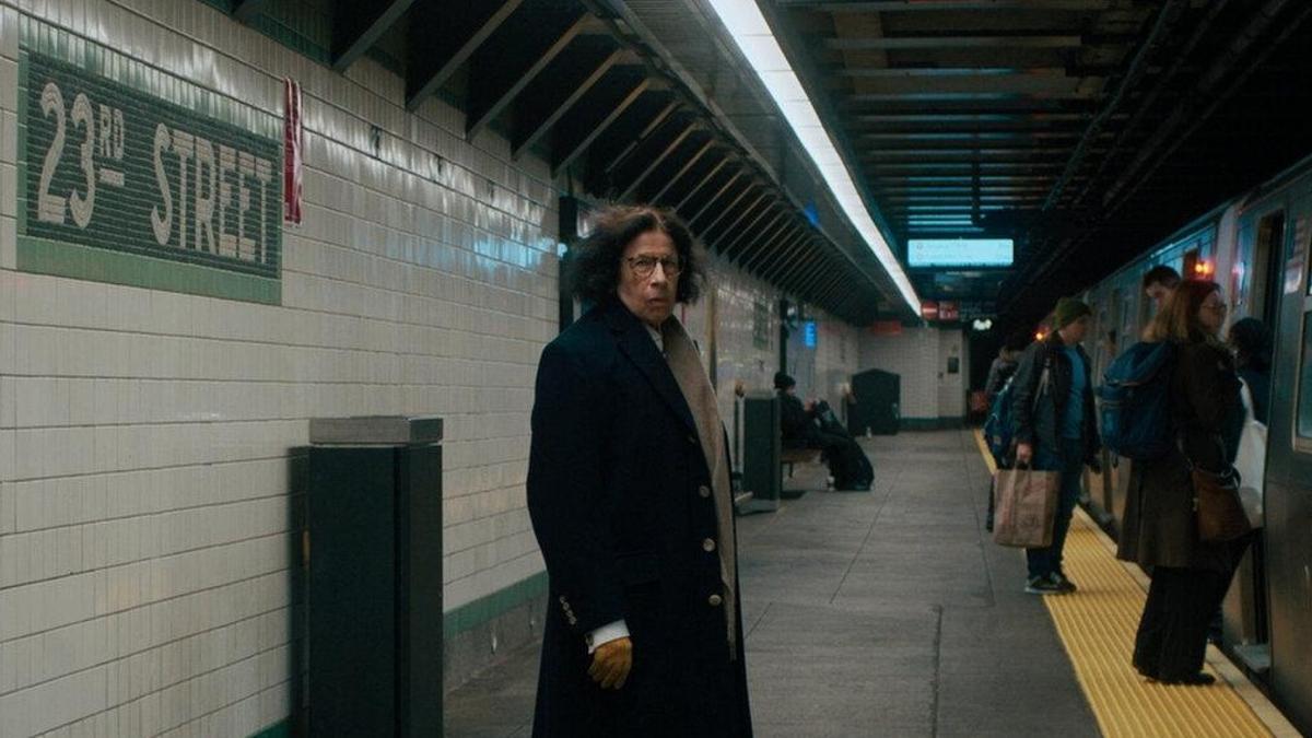 Fotograma de la miniserie 'Supongamos que Nueva York es una ciudad' con Fran Lebowitz