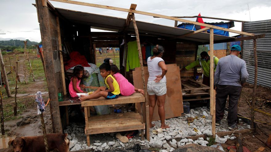 """Invasores en Panamá, la """"lucha"""" por tener casa que se agudiza con la pandemia"""