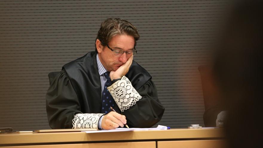 El juez Salvador Alba durante el juicio del caso Calero (Alejandro Ramos)