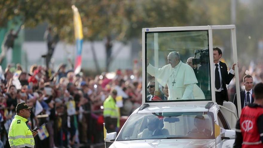 El papa Francisco dice a colombianos que no pierdan la esperanza