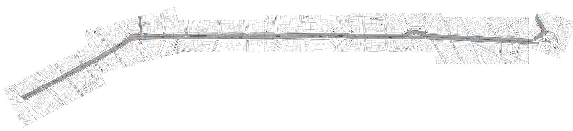 Planta completa del proyecto entre Marqués de Urquijo y Alonso Martínez (pincha para ampliar)