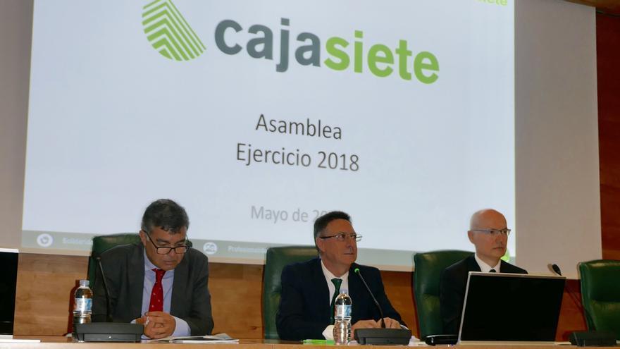 Imagen de la Asamblea General Ordinaria de Cajasiete.
