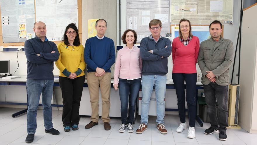 Los profesores Luis Cana Patricia Caro, Alonso Hernández, Diana Grisolía, Antonio Martínez Angela Meaton y David Sosa.